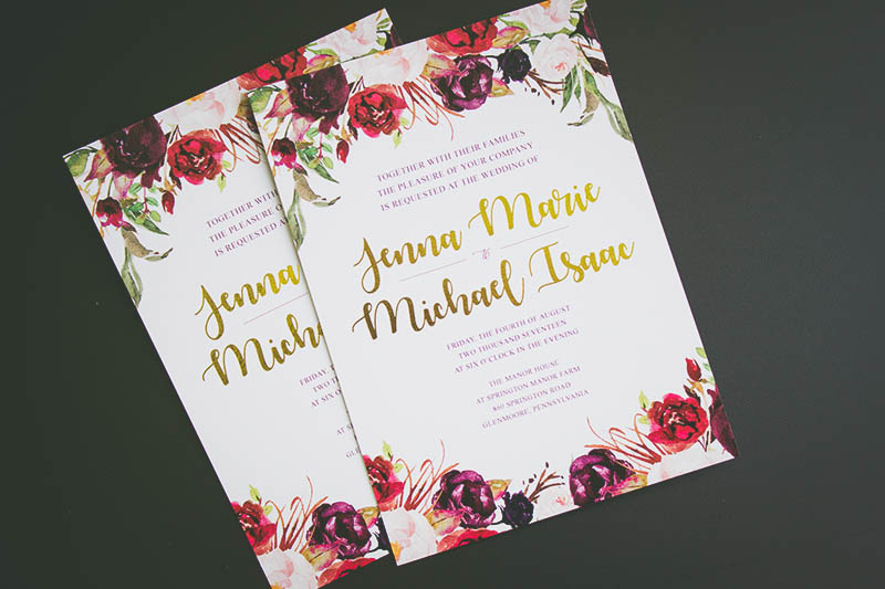 Design inspiration wedding invitation suite with free invitation img9950800 2 stopboris Gallery