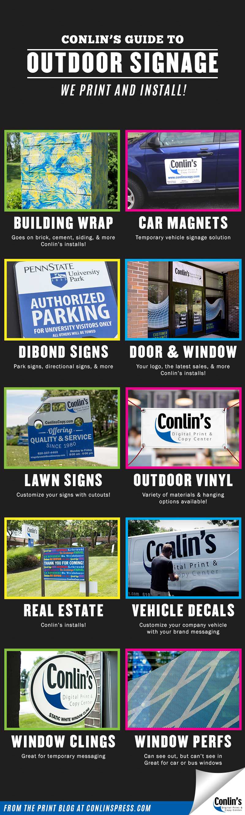 Outdoor Signs NEW