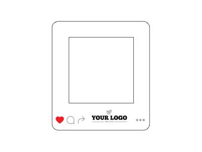 Instagram Frame Promo Magnets - Instagram frame template