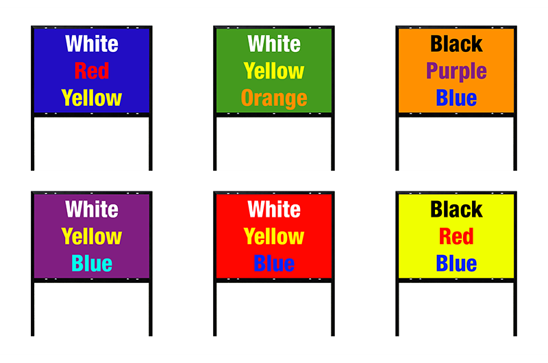 LawnSignColors
