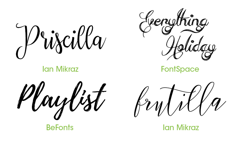Font Used For Wedding Invitations: 16 Free Fonts For Invitation Design
