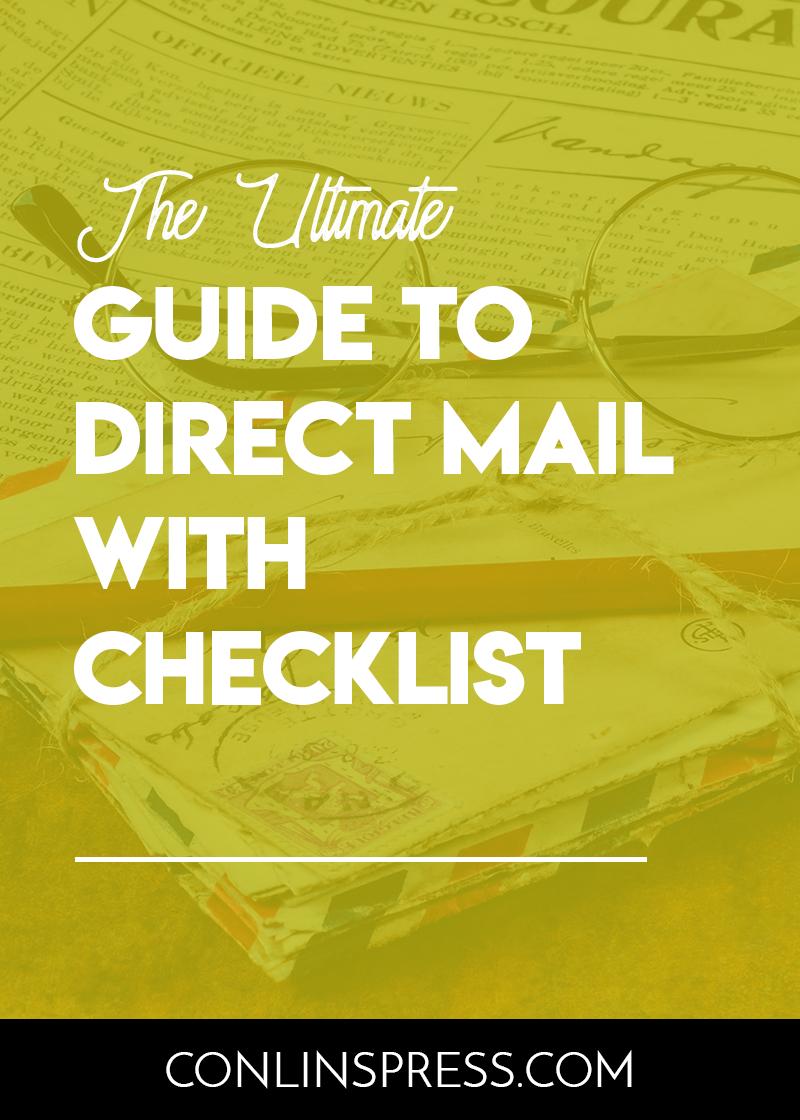 Direct Mail Checklist