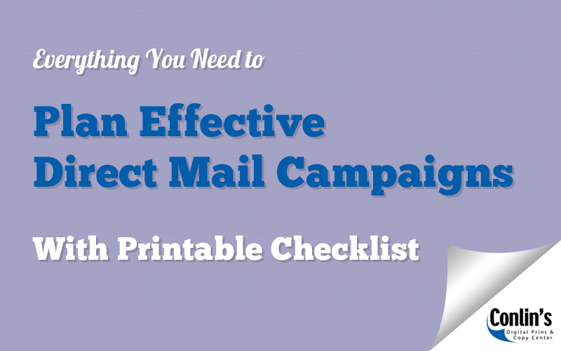 Direct Mail Checklist