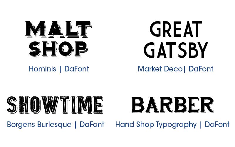 16 Free Vintage Fonts |