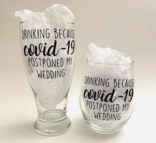 wedding merch drinkware