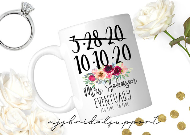 wedding merch mug