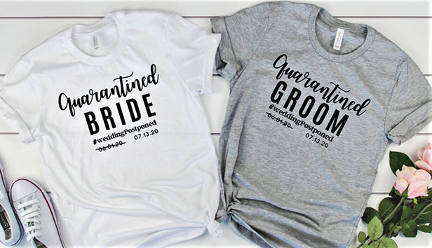 wedding merch shirts
